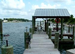 North Carolina Intracoastal Waterway RV Lot and Boat Slips   www.carolinawaterfrontonline.com