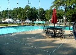 Whittaker Creek Yacht Harbor Deep Water Deeded Boat Slip Oriental North Carolina